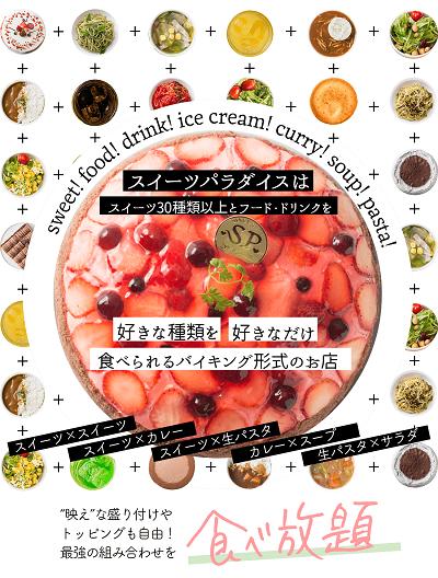 【日本/食記】甜點吃到飽連鎖店「SWEET PARADISE」,各式蛋糕甜點任你吃到飽!2020聖誕限定菜單搶先看!